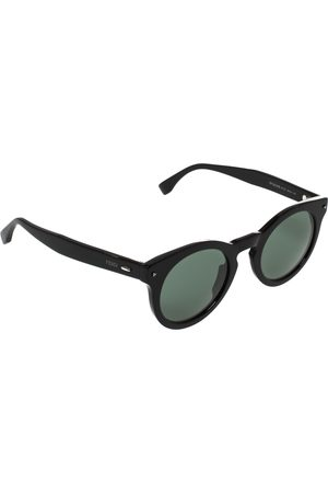Fendi Black/ FF 0214/S Round Sunglasses