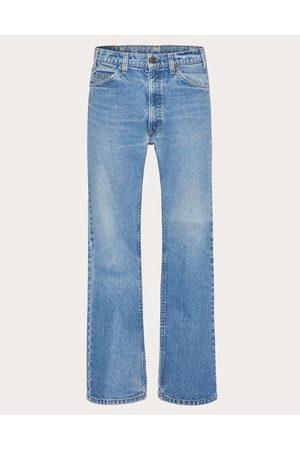 VALENTINO Levi's® X Valentino Vintage Edition Man Navy Cotton 100% 30