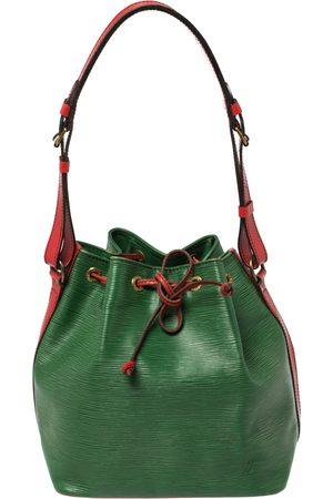 LOUIS VUITTON Borneo /Red Epi Leather Petit Noe Bag