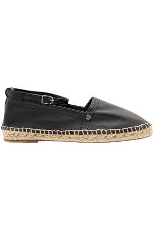Hermès Leather Studded Accents Espadrilles Size 39