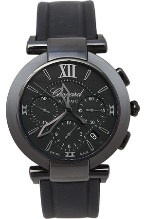 Chopard DLC-Coated Steel and Rubber Imperiale 8549 Men's Wristwatch 40mm