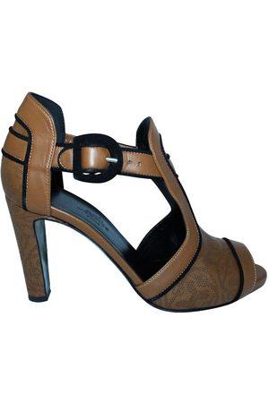 Hermès Leather Sandals Size 36