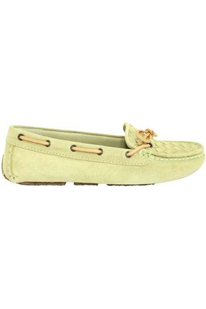 Bottega Veneta Suede Intrecciato Loafers Size EU 34