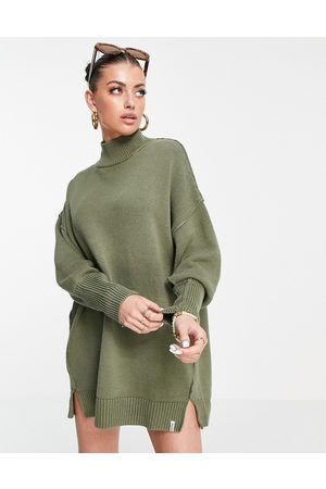 Rhythm Sweater beach dress in khaki