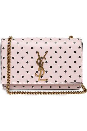 Saint Laurent And Polka Dot Small Kate Bag