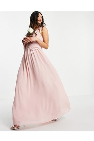 VILA Bridesmaid maxi dress in