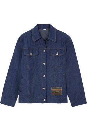 Gucci Appliquéd denim jacket
