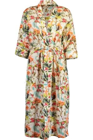The Lazy Poet Linen Sophie Robe - Carribbe