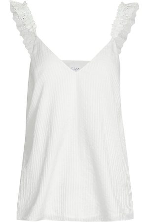 CAMI Women's Rudy Silk Charmeuse Camisole - - Size Large