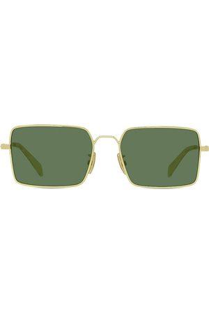 Céline Men's 53MM Rectangular Sunglasses - Shiny Endura
