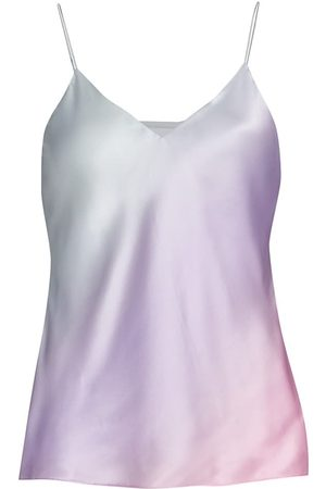 CAMI Women's Raine Silk Camisole - Candy Ombre - Size Large