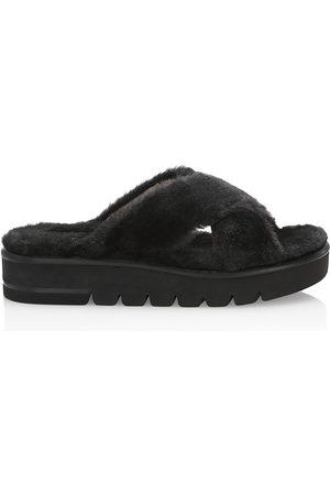Stuart Weitzman Women's Roza Lift Slide Sandals - - Size 6.5