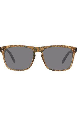 Céline Men's 57MM Rectangle Sunglasses - Animal Smoke