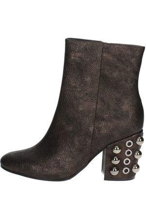 Luciano Barachini Women Boots - Boots Women Bronze Pelle Sintetico