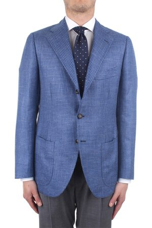 CESARE ATTOLINI Men Blazers - Blazer Men Cashmere/seta/lino