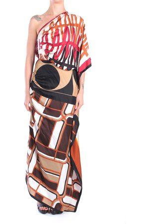 ERIKA CAVALLINI Dress Women Ebony seta