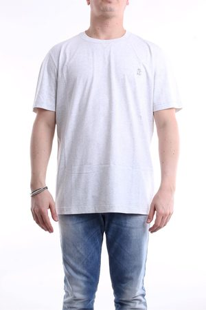 Brunello Cucinelli Short sleeve Men Light grey
