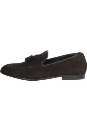 ANTONY SANDER Loafers Men Camoscio