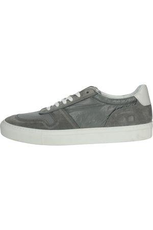 D.A.T.E. Sneakers Men Grey Camoscio/nylon