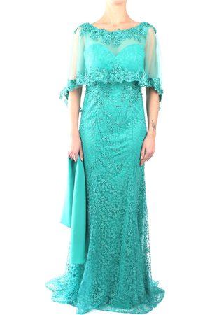 IMPERO Dress Women Emerald poliestere