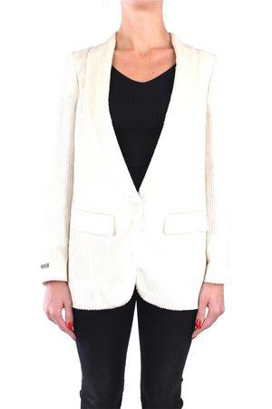 PESERICO SIGN Women Blazers - Blazer Women Ivory Viscosa