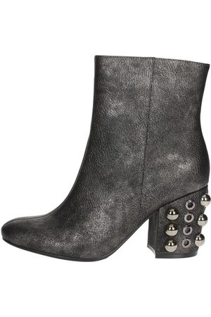 Luciano Barachini Women Boots - Boots Women Anthracite Pelle Sintetico