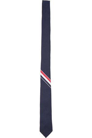 Thom Browne Classic Engineered Stripe Tie in