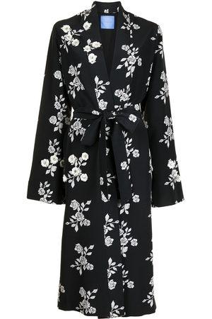 Macgraw Women Bathrobes - St Peters floral-print silk robe