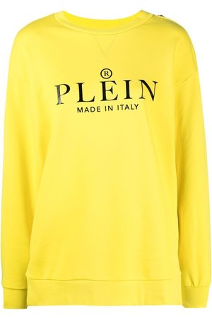 Philipp Plein Logo print cotton sweatshirt