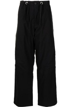 OAMC Drawstring-waist cotton trousers