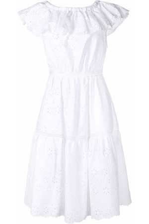 P.a.r.o.s.h. Broderie-anglaise ruffled dress