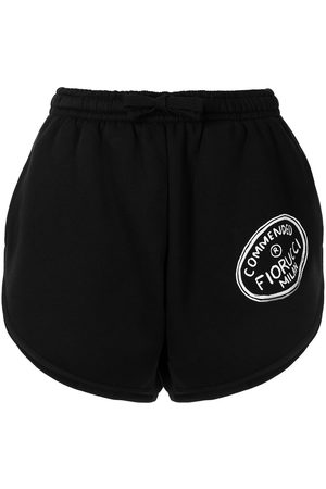 Fiorucci Illustrated Commended sweat-shorts