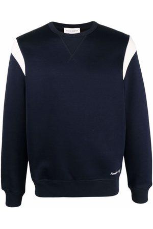 Alexander McQueen Contrast-panel sweatshirt