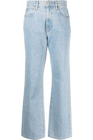 SLVRLAKE High-waisted straight-legged trousers
