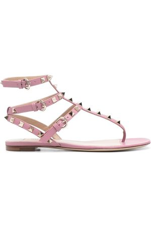 VALENTINO GARAVANI Rockstud-embellished flat sandals