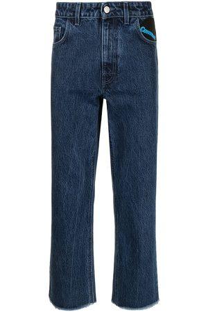 RAF SIMONS Community straight-leg jeans