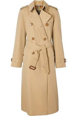Burberry Waterloo Heritage long trench coat - Neutrals