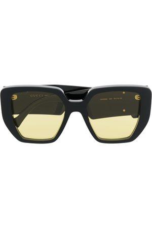 Gucci Eyewear Square-frame tinted sunglasses