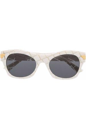 Bottega Veneta Eyewear Sunglasses - BV1103S geometric-frame sunglasses