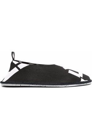 Kenzo Men Loafers - Sport K-Knit slip-on loafers