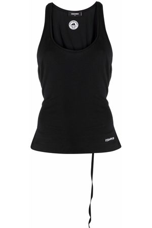 Dsquared2 Tie-waist vest top