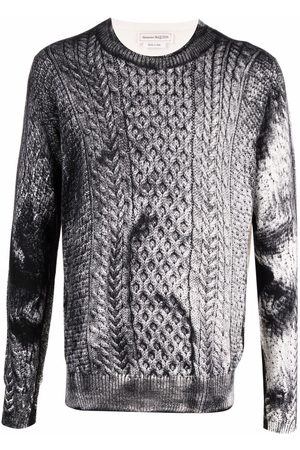 Alexander McQueen Cable-knit jumper