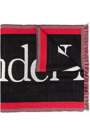 Alexander McQueen Logo-embellished wool scarf