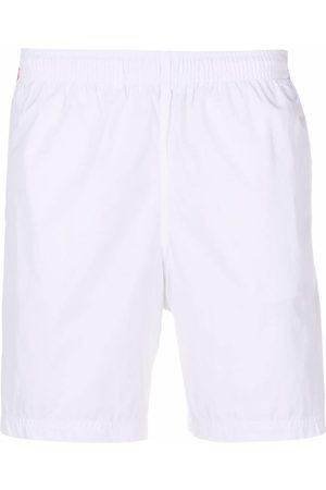 Alexander McQueen Logo side-panel shorts