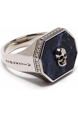 Alexander McQueen Skull-detail signet ring