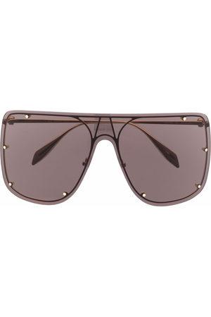 Alexander McQueen Aviators - Stud-detail aviator sunglasses