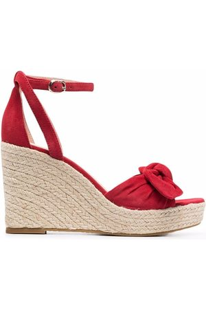Kate Spade Women Heeled Sandals - Bow-detail wedge-heel sandals