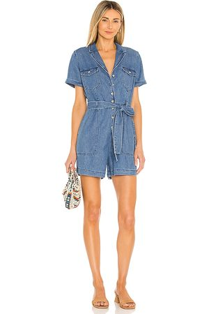 Rails Georgie Romper in Blue.