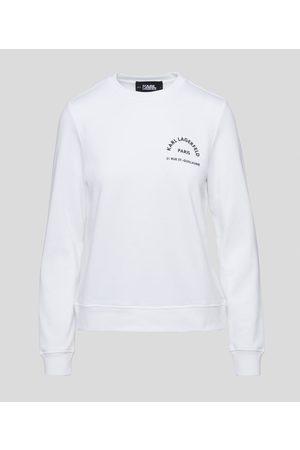 Karl Lagerfeld Women Sweatshirts - Address Logo Sweatshirt