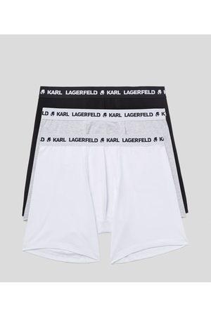 Karl Lagerfeld Men Boxer Shorts - LOGO BOXERS 3-PACK